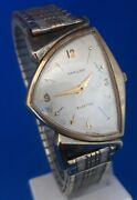 Menand039s Vintage Hamilton Pacer Electric Cal.500a Watch.free Priority Shipping.
