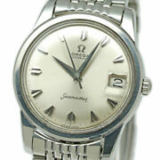 Omega Seamaster Automatic 166.009 Date Vintage Menand039s Watch 1964 Wl28300