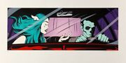 Dface - Drive By Shouting - La Edition. 2017 Blink182. Print. Numbered. Signed.