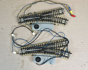 Marklin 3600 Mws Set Of 2 Electric Right Hand Point Track 1954 Production Oa