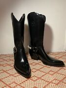 Calvin Klein Cowboy Boots Calvinklein205w39nyc Western Boot In Calf Leather