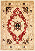Vintage Geometric Hand-knotted Carpet 9and0399 X 14and0392 Traditional Wool Area Rug