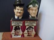 Laurel And Hardy Whiskey Bottles From 1976 From Ezra Brooks + Original Boxes