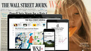 Wall Street Journal Print And Online All Access 1-year Wsj Subscription News