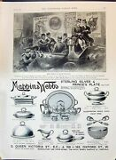 Old 1896 Advertisement Mappin Webb Chiefs Bechuanaland Colman's Starch B 19th