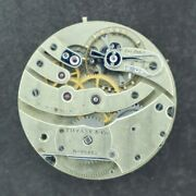 Antique 38.7mm And Co. By Patek Philippe Manual Wind Pocket Watch Movement