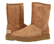 Ugg Classic Short Ii Womenand039s Boots - Chestnut - Size 7 Us.