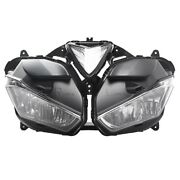 Motorcycle Dual Twin Front Headlight Assembly For Yamaha Yzf R3/r25 2013-2018 17