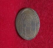 Oran Plaza Our Lady Of Guadalupe Fort Worth Texas Cuzn Souvenir Elongated Penny