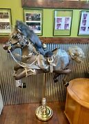 Hand Created Carousel Horse By Artist Marilyn Cole