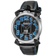 Gagandagrave Milano Manuale 46 110 Anniversary Watch Inter Milan Limited Edition 6010.11