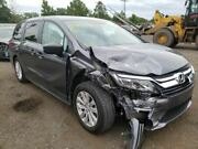 Passenger Right Front Door Without Acoustic Glass Fits 18-19 Odyssey Grey