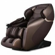 Full Body Zero Gravity Massage Chair Recliner With Sl Track-brown - Color Brow