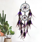 85cm Dream Catcher Feather Beads Pendant Wall Hanging Car Home Decoration Gift