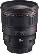 Near Mint Secondhand Canon Ef24mm F1.4l Ii Usm Full Size Compatible
