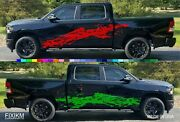 Graphics Decals For Trucks Pick Up Suv Mud Splash Off-road Large Size Pair Set