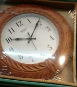 Wooden Wall Clock, Hanging Clock Collectible Gift For Home
