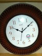 Wooden Wall Clock, Extra Large Quality Quartz Hanging Clock Collectible Gift