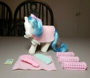 Vintage Hasbro My Little Pony G1 Fifi Twice As Fancy Perm Shop And Accessories