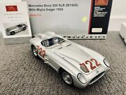 Cmc Mercedes-benz 300slr 722 Mint With Box And Accessories 118 Scale