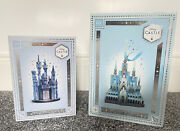 Disney Castle Collection Cinderella And Frozen Arendelle Hanging Ornaments Rare