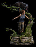 Shadow Of The Tomb Raider Statue 1/4 Lara Croft Queen Of The Jungle 57cm
