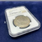 Straits Settlements Edward Vii 1909 Dollar Silver Coin Ngc Ms61
