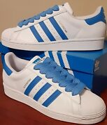 Adidas Original Superstar Sneakers Shell Toe Mens Size 10 New With Box And Tags