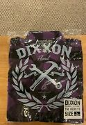 Dixxon Hieress Mens Large Tall Bnib Flannel Extremely Rare
