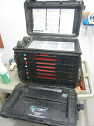 Pelican 0450 Tool Case/armstrong General Mechanics Military W/trays   2