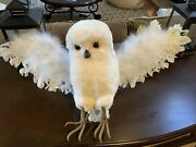 Pottery Barn Harry Potter Owl Hedwig In Flight Sold Out Tree Topper New