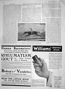 Old Antique Print 1907 Eclipse Horse Racing Sport Williams Shaving Stick 20th