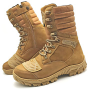 Mens Hunting Boots Motorcycle Desert Leather Military Boots Tactical Boots Hunt
