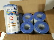 Case Of 6 Intex Type A Filter Cartridge For Above Ground Swimming Pool Pumps