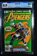 Avengers 196 - Marvel Comics 6/80 - Cgc 8.0 - Ow/w Pages - Bronze Age