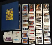 Classic Wwf Wrestling Card Collectors Album Complete W/ Extras Wrestlemania Wwe