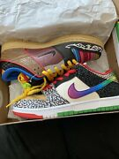 Size 9.5 - Nike Sb Dunk Low What The P-rod