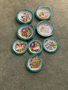 Giovanni Desimone Italian Pottery Plate And Bowl Lot 4 Of Each Italy