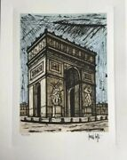 Bernard Buffet Signed In Plate And Numbered + Coa