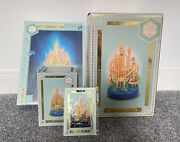 Disney Ariel The Little Mermaid Castle Collection Figurine/ornament/puzzle And Pin