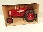 Ertl Mccormick Farmall 350 Diecast Metal Tractor Wide Front 418 Made In Usa Mib
