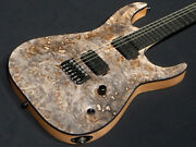 Esp Edwards E-hr6 Fixed Burl Top Near Mint From Japan Electric Guitar