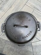 Griswold 8 Tight-top Baster Dutch Oven 833a With 2551a Lid D-11
