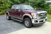 2013 Ford F-350 Turbo Diesel Lariat 4x4 Excellent Condition With Ford Drive Train Warranty