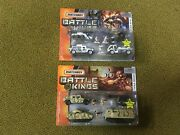 Lot Of 2 Matchbox Battle Kings Polar Rescue And Sahara Strike New In Packages 2006