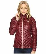 Nwt M The Thermoball Hooded Jacket Deep Garnet Red