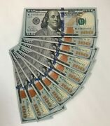 New Uncirculated 100 One Hundred Dollar Bill In Sequential Order Us Real Money