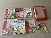 Leappad Plus Writing And Microphone Plus 6 Books Extra Pencils And Stylus Leap Frog