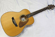 Outlet Special Price Morris Fh101 Acoustic Guitar With Warranty And Hard Case