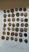 54 Pieces Ancient Roman Uncleaned Coins